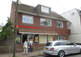 390 SF High Street Shop for Rent  |  14 Fore Street, Budleigh Salterton, EX9 6NG