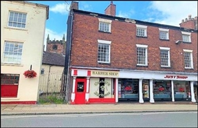 145 SF High Street Shop for Rent  |  24 High Street, Newcastle Under Lyme, ST5 1RA