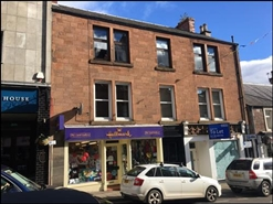 481 SF High Street Shop for Rent  |  23 Allan Street, Blairgowrie, PH10 6AB