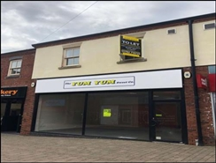 545 SF Shopping Centre Unit for Rent  |  Unit 4, Castle Walk Shopping Parade, Newcastle Under Lyme, ST5 1AN