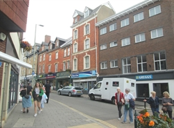 301 SF High Street Shop for Sale  |  3 Bampton Street, Tiverton, EX16 6AA