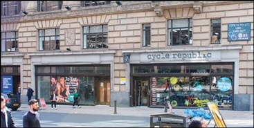 2,260 SF High Street Shop for Rent  |  95 - 99 Bothwell Street, Glasgow, G2 7HX