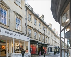 1,727 SF High Street Shop for Rent  |  14 Old Bond Street, Bath, BA1 1BP