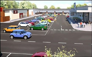 1,250 SF High Street Shop for Rent  |  Beechdale Retail Park, Nottingham, NG8 3LL