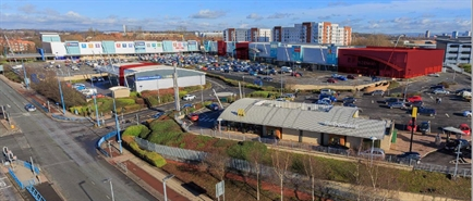 7,567 SF Retail Park Unit for Rent  |  Unit 13 West One Retail Park, Manchester, M50 1ZD