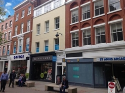 661 SF High Street Shop for Rent  |  12 St Ann's Square, Manchester, M2 7HW
