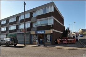 695 SF High Street Shop for Rent  |  Unit 2, Roseville Precinct, Bilston, WV14 9DP