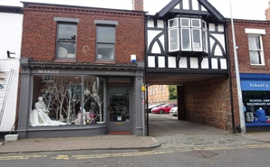 387 SF High Street Shop for Rent  |  56 Hospital Street, Nantwich, CW5 5RP