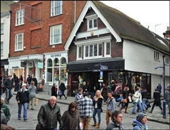 1,387 SF High Street Shop for Rent  |  70 High Street, Guildford, GU1 3HE