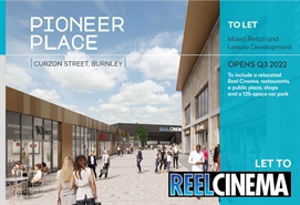 2,132 SF Shopping Centre Unit for Rent  |  Pioneer Place, Burnley, BB11 1DX