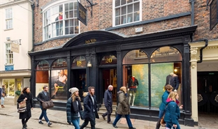 1,398 SF High Street Shop for Rent  |  18-20 Stonegate, York, YO1 8AS