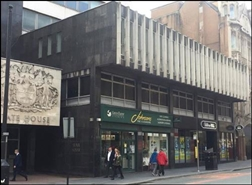 1,102 SF High Street Shop for Rent  |  State House, Liverpool, L2 4TR