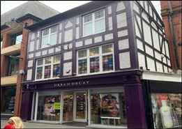 685 SF High Street Shop for Rent  |  24 Bridlesmith Gate, Nottingham, NG1 2GQ