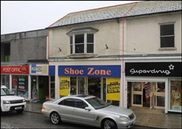 1,889 SF High Street Shop for Rent  |  97 Market Jew Street, Penzance, TR18 2LE