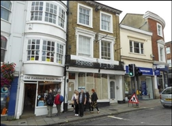 681 SF High Street Shop for Rent  |  63 High Street, Winchester, SO23 9BX