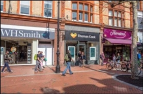 657 SF High Street Shop for Rent  |  37 Broad Street, Reading, RG1 2AA