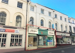 1,140 SF High Street Shop for Rent  |  7 Torquay Road, Paignton, TQ3 3DU