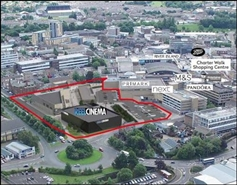 9,000 SF Shopping Centre Unit for Rent  |  Pioneer Place, Burnley, BB11 1BA