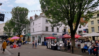 527 SF High Street Shop for Rent  |  26-27 East Street, Brighton, BN1 1HL
