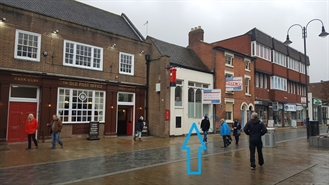 1,118 SF High Street Shop for Rent  |  119 High St, Bromsgrove, B61 8AA