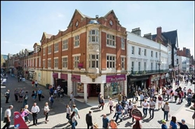 2,059 SF High Street Shop for Rent  |  297 High Street, Lincoln, LN2 1AF
