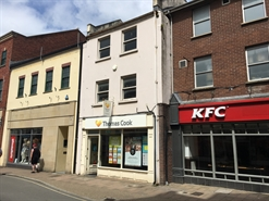 892 SF High Street Shop for Rent  |  48 High Street, Barnstaple, EX31 1BZ