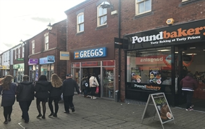 562 SF High Street Shop for Rent  |  Unit 6, Castle Walk, Newcastle Under Lyme, ST5 1AN