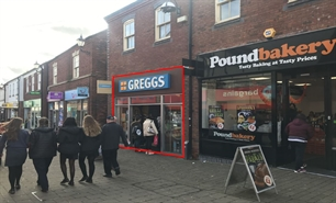 562 SF High Street Shop for Rent  |  Unit 6 Castle Walk, Newcastle under Lyme, ST5 1AN
