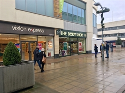 1,417 SF Shopping Centre Unit for Rent  |  21 Willow Place, Corby, NN17 1BH