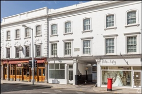 385 SF High Street Shop for Rent  |  50 Fulham Road, London, SW3 6HH
