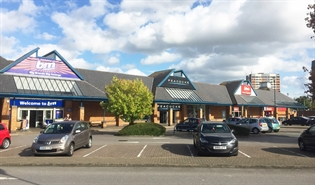 15,000 SF Shopping Centre Unit for Rent  |  Unit F Flintshire Retail Park, Flint, CH6 5GB