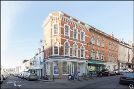 1,067 SF High Street Shop for Sale  |  1 The Mall, Bristol, BS8 4DP