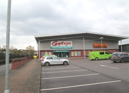 6,513 SF Retail Park Unit for Rent  |  Unit 2, Kennedy Way, Tiverton, EX16 6FP