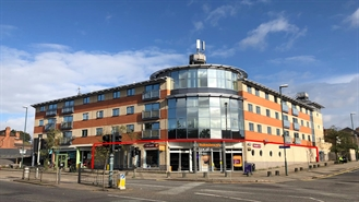 8,159 SF High Street Shop for Rent  |  Unit 1, Commodore Court, Nottingham, NG8 5DQ
