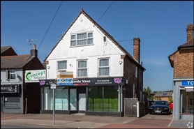 1,218 SF High Street Shop for Sale  |  152 Derby Road, Nottingham, NG9 7AY