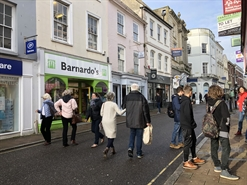 749 SF High Street Shop for Rent  |  88 High Street, Barnstaple, EX31 1HR