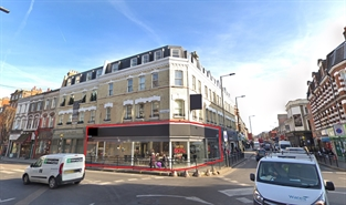 1,601 SF High Street Shop for Rent  |  313 North End Road, London, SW6 1NN