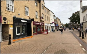 752 SF High Street Shop for Rent  |  50 West Gate, Mansfield, NG18 1RR