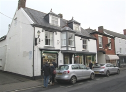 594 SF High Street Shop for Rent  |  11 Fore Street, Topsham, EX3 0HF