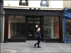 782 SF High Street Shop for Rent  |  9 Stall Street, Bath, BA1 1QE