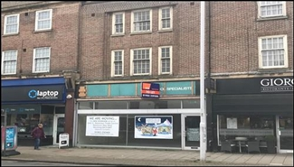 1,369 SF High Street Shop for Rent  |  41 Broadwater Street, Worthing, BN14 9BY