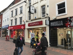 1,051 SF High Street Shop for Rent  |  30 Fore Street, Bridgwater, TA6 3NG