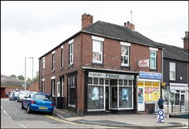 505 SF High Street Shop for Rent  |  64 Liverpool Road, Newcastle Under Lyme, ST5 2AX
