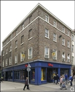 468 SF High Street Shop for Rent  |  14A Parliament Street, York, YO1 8SG