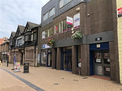 728 SF High Street Shop for Rent  |  39A Stockwell Gate, Mansfield, NG18 1LA