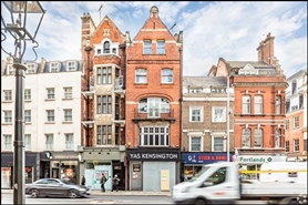 3,345 SF High Street Shop for Rent  |  29 Kensington High Street, London, W8 5NP