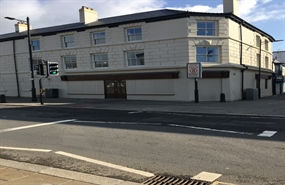 2,381 SF High Street Shop for Rent  |  25 Victoria Square, Aberdare, CF44 7LB