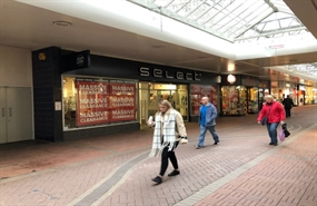2,520 SF High Street Shop for Rent  |  9 The Mall, Cwmbran, NP44 1PX