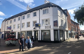 1,179 SF High Street Shop for Rent  |  62 Commercial Street, Hereford, HR1 2DJ