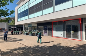 818 SF High Street Shop for Rent  |  Unit 7A Eastgate Retail and Leisure Quarter, LLanelli, SA15 3YF